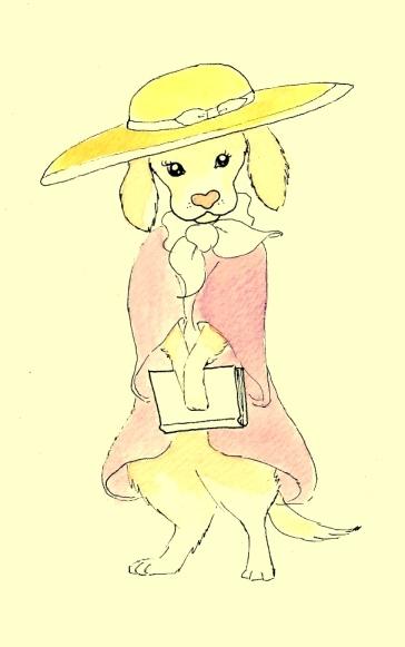 Serafina, la perrita lectora.